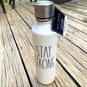 New Rae Dunn Stay Strong Water Bottle